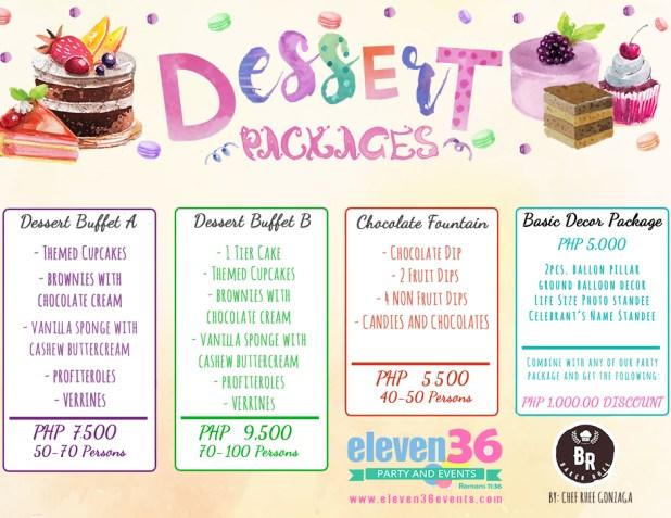Cebu Dessert and Candy Buffet