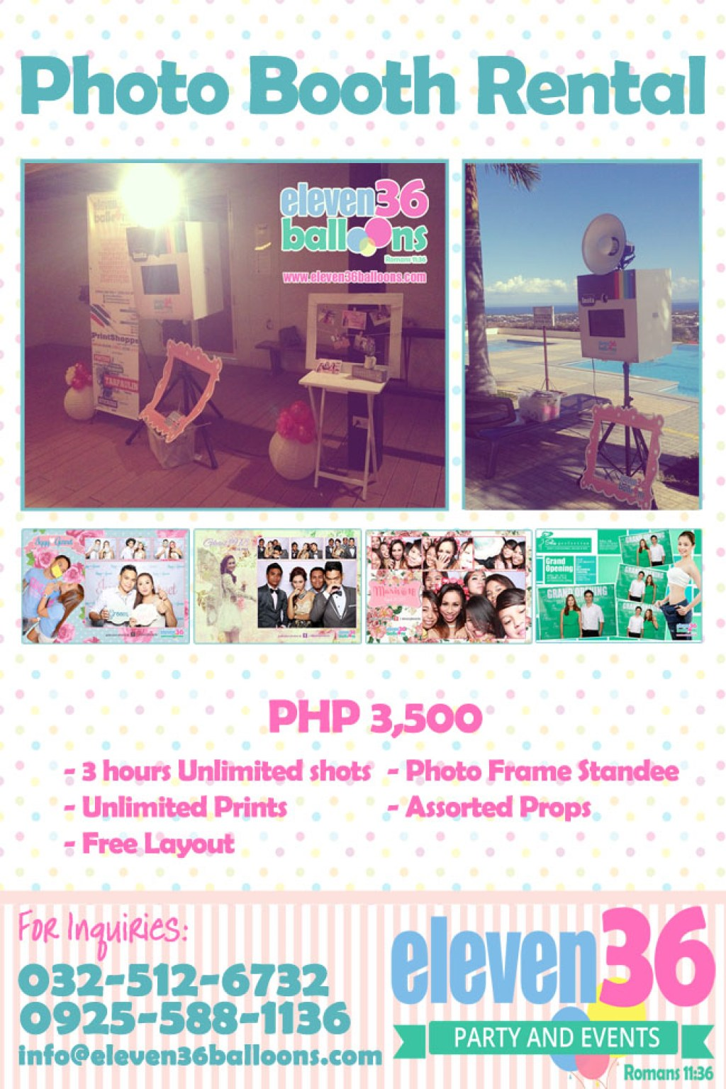 Photo Booth Rental - Cebu