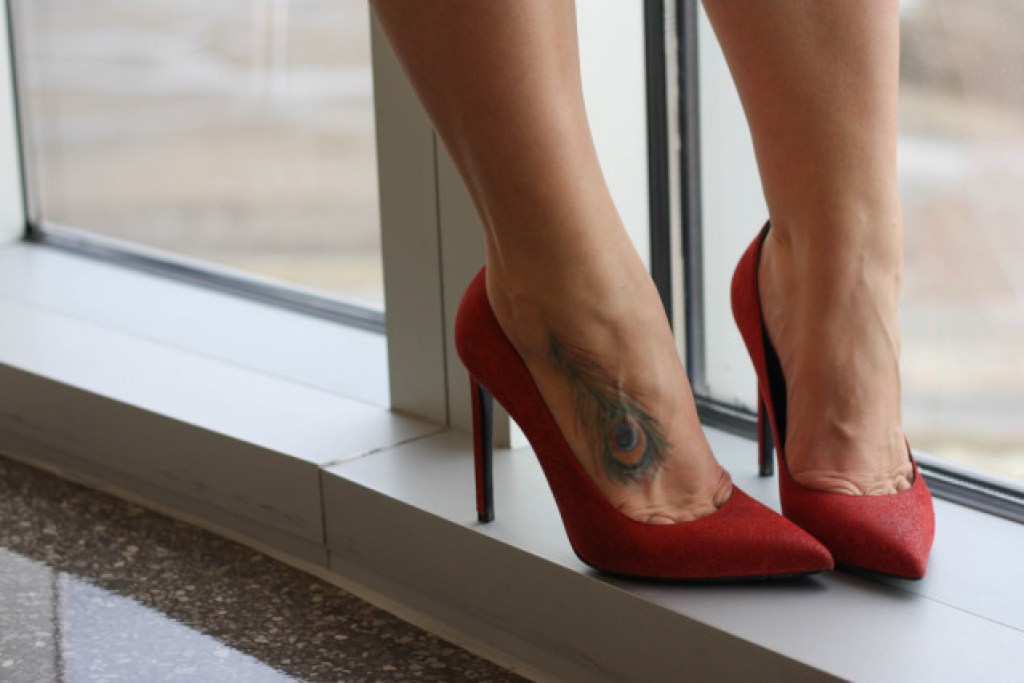 Yves Saint Laurent Red Heels