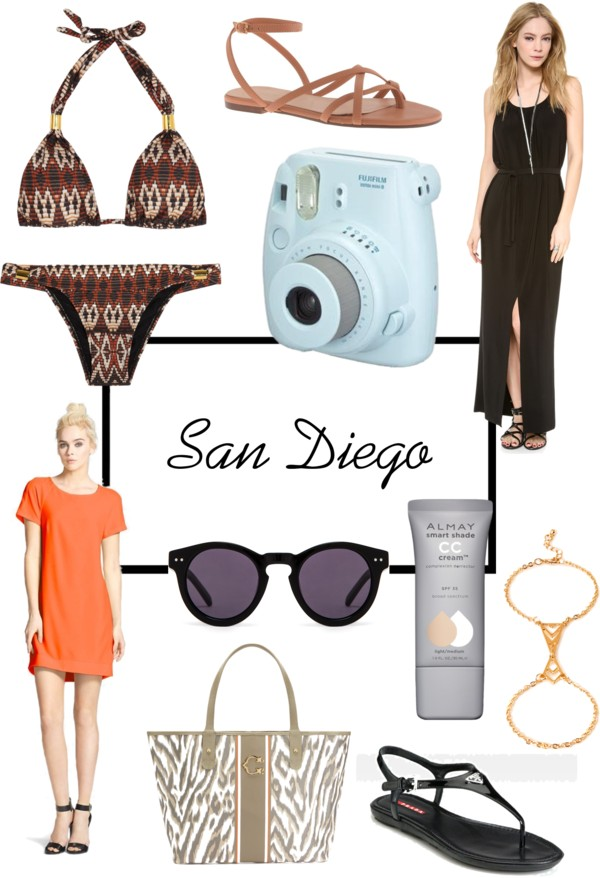 Whats in my bag: San Diego