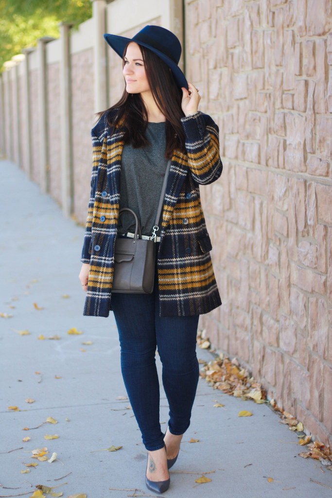 Plaid Coat Outfit Inspiration