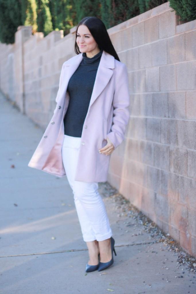 Pink Forever21 Coat