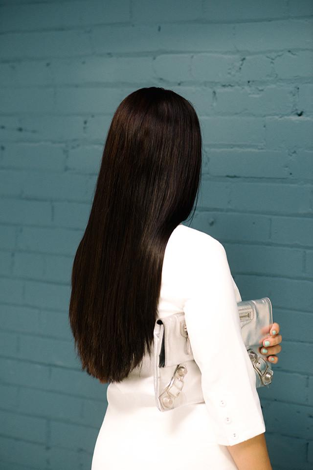 Long Brunette Hair