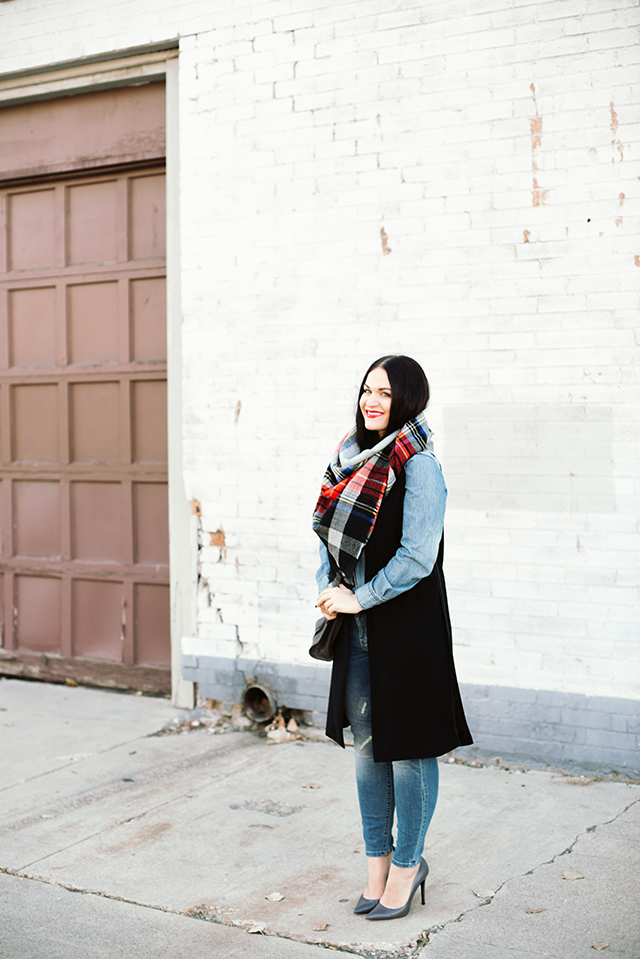 Winter Scarf Outfit