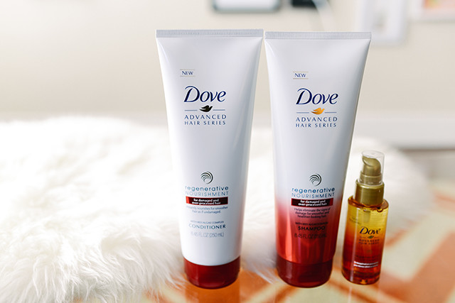 Dove Hair Regenerative Nourishment Collection