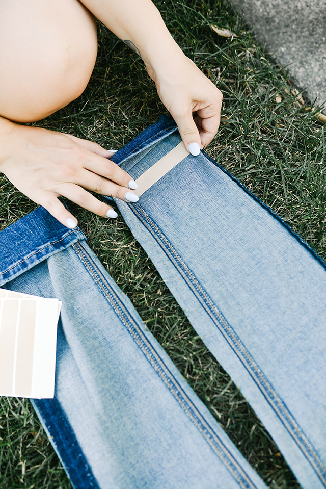Hemming Your Jeans