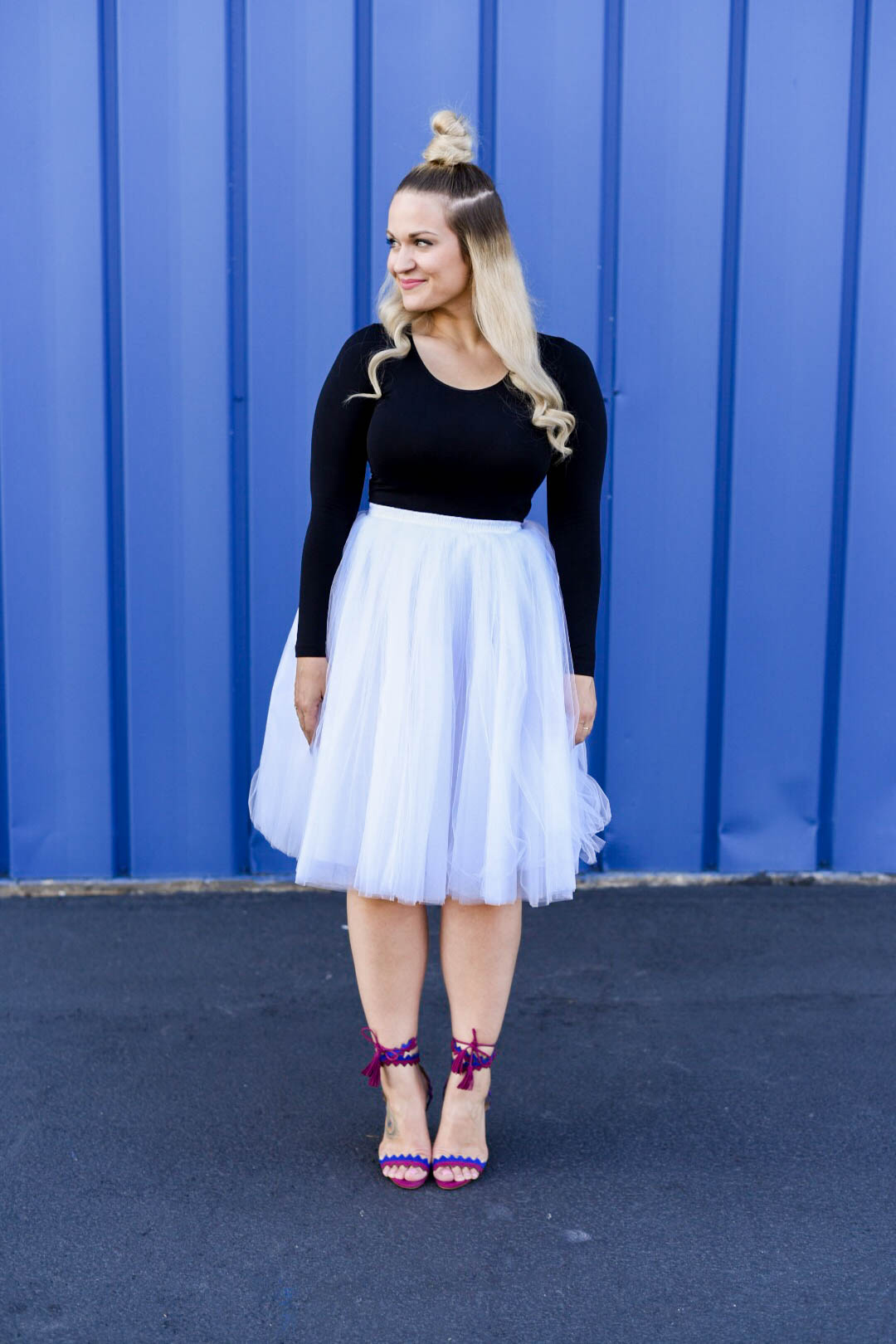 Tulle Skirt Birthday Outfit