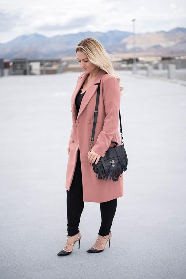 Button-Front Coat