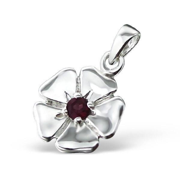 silver-flower-pendant-with-semi-precious