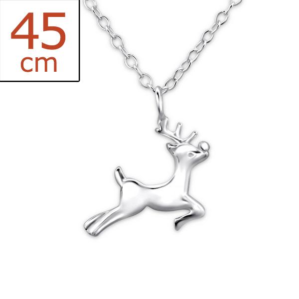 silver-reindeer-necklace