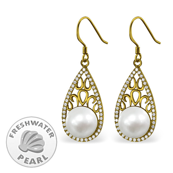 silver-teardrop-earrings-with-cubic-zirconia-and-pearl