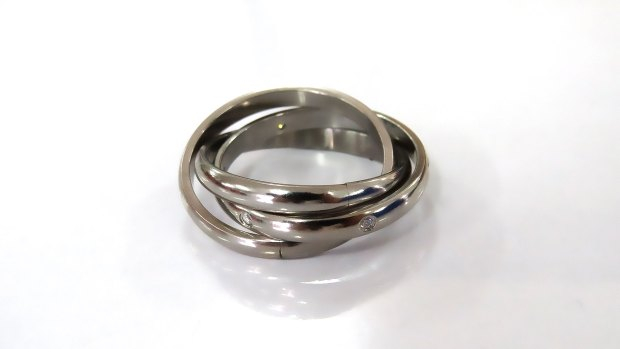 Correlations stainless steel ring