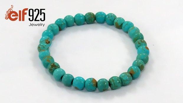 Natural turquoise gemstone bracelets wholesale
