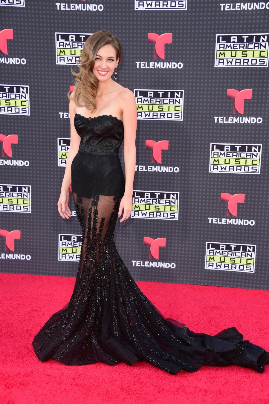 HOLLYWOOD, CA - OCTOBER 08: Patricia Zavala attends Telemundo's Latin American Music Awards at the Dolby Theatre on October 8, 2015 in Hollywood, California. Frazer Harrison/Getty Images/AFP