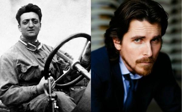 Enzo Ferrari - Christian Bale