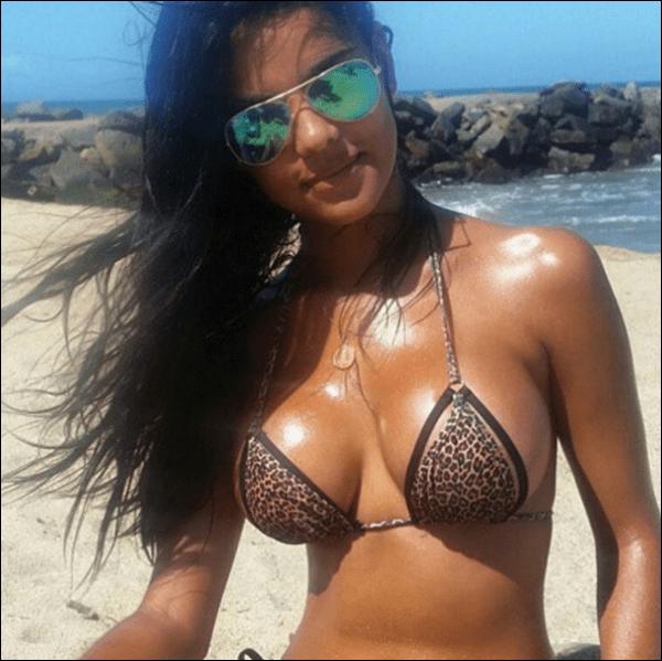 Esta Sexy Morena Venezolana Está Explotada Fotos Candela