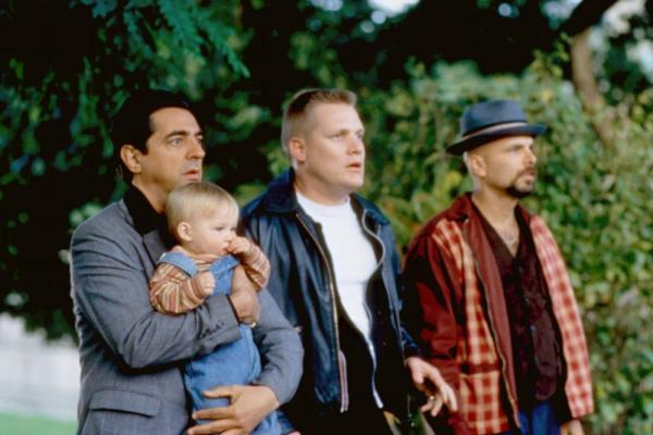 BABY'S DAY OUT, Joe Mantegna, Adam Robert Worton, / Jacob Joseph Worton, Brian Haley, Joe Pantoliano, 1994. TM & ©20th Century Fox. All rights reserved