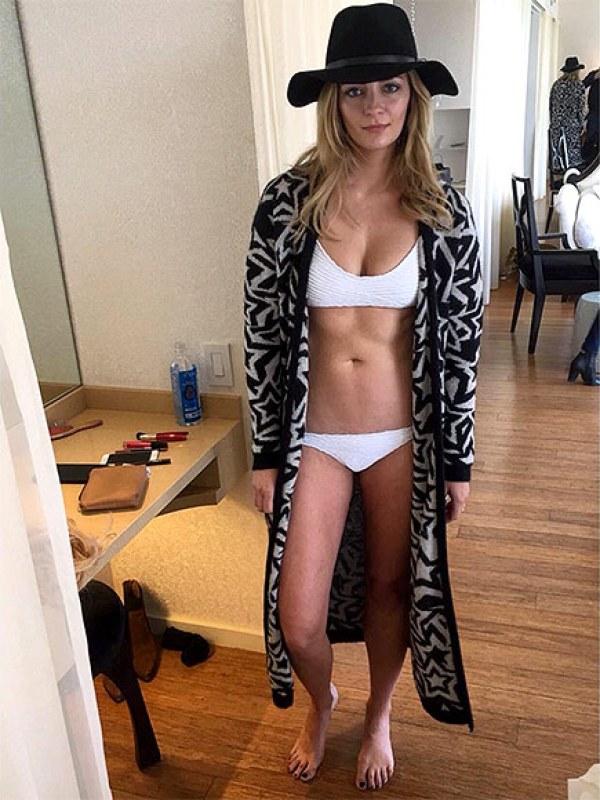 https://www.instagram.com/p/BIi72KEju1b/ Screengrab of Mischa Barton's Instagram of her in a bikini 8/1/16 Source: Mischa Barton/Instagram