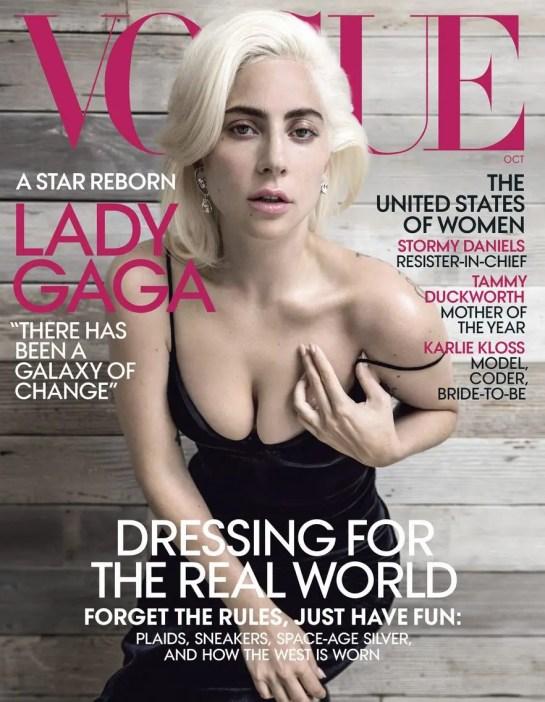 Lady Gaga en Vogue