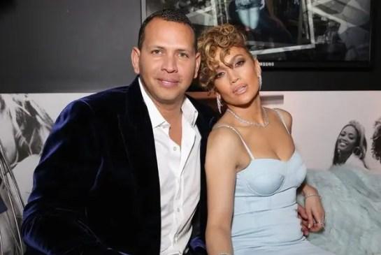 Alex Rodríguez Jennifer Lopez