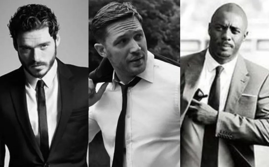 Richard Madden, Idris Elba y Tom Hardy