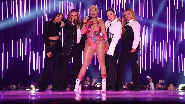 emas 2018 nicki minaj little mix