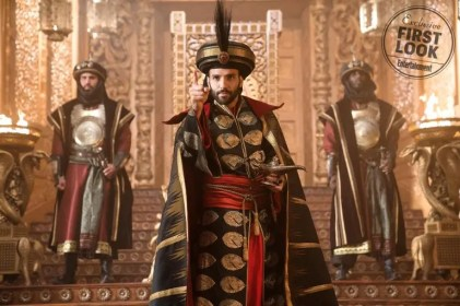 Marwan Kenzari is the powerful sorcerer Jafar in Disney's live-aciton ALADDIN.