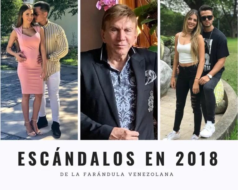 ESCÁNDALOS EN 2018