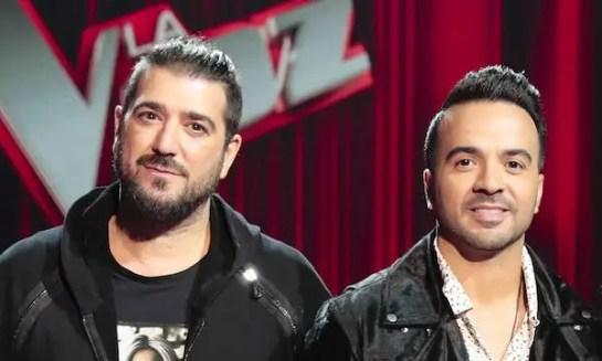 Luis Fonsi y Antonio Orozo