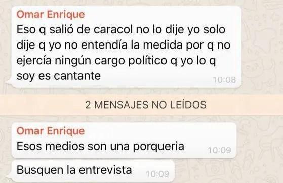 Roberto Messuti y Omar Enrique se enfrentan por la política