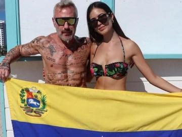 b0a5b4733d4be Enamorados! Gianluca Vacchi se luce con su novia venezolana ...