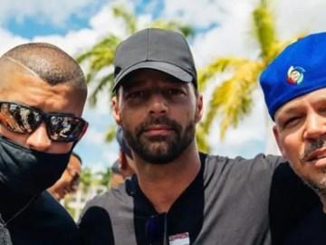 Ricky Martin Bad Bunny y Residente