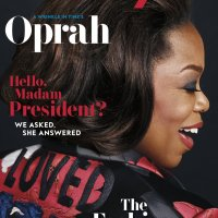 Oprah's Gucci Jacket on InStyle Cover March 2018