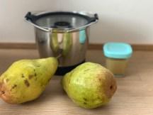 Familienessen für Groß und Klein! Heute mit der Unterstützung der Krups Prep&Cook: Thymian Salbei Gnocchi mit Birne mehr Rezepte auf www.elfenkindberlin.de