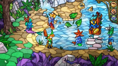 Mermen's lake