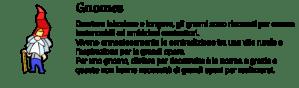 Descrizione cultura degli gnomi dall'avventura grafica a vetrate Little Briar Rose