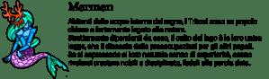 Descrizione cultura dei tritoni dall'avventura grafica a vetrate Little Briar Rose