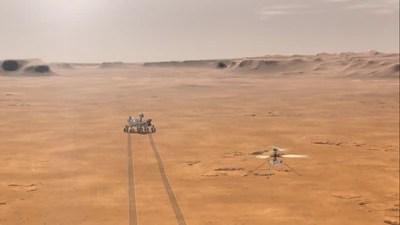 Ingenuity, el primer 'helicóptero' que sobrevolará Marte en 2021