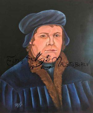 Martin Luther / Ölgemälde
