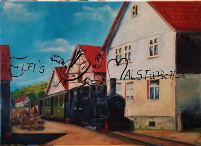 Trusebahn / Trusetal / Dampflok / Schmalspurbahn