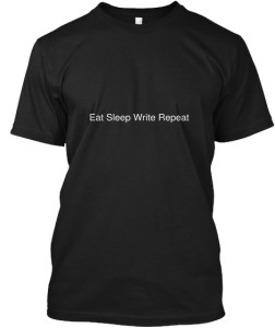 Hanes Tee : East Sleep Write Repeat