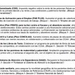 Pacto de Investidura Ciudadanos y PP. 150 Puntos del Programa Electoral