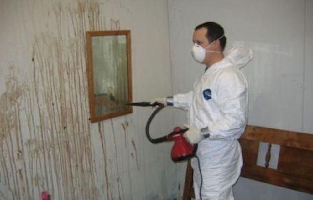 Limpieza de restos y fluidos