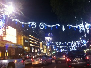 Orchard Road Christmas Light