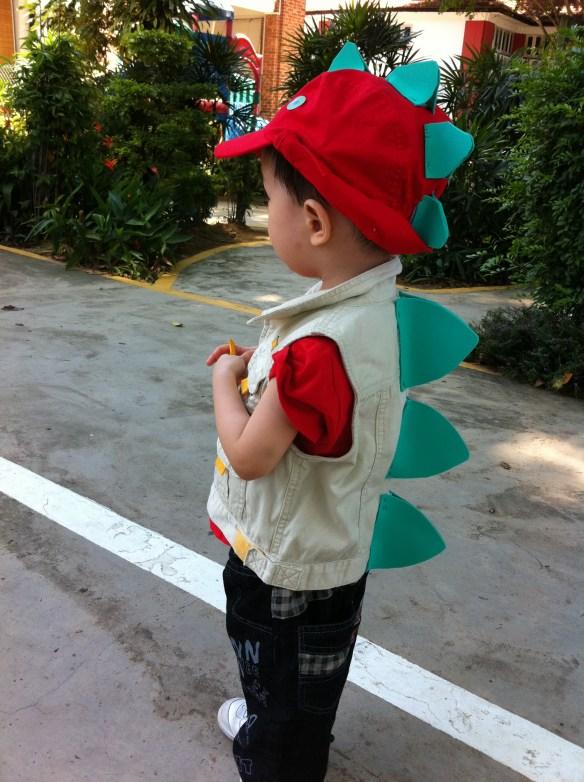 stegosaurus costume