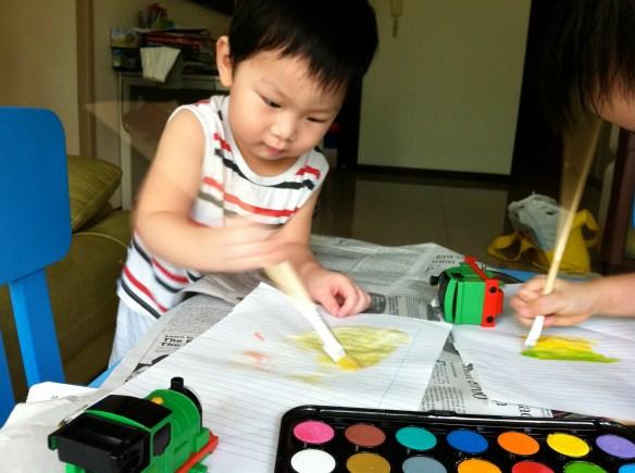 gar and el painting