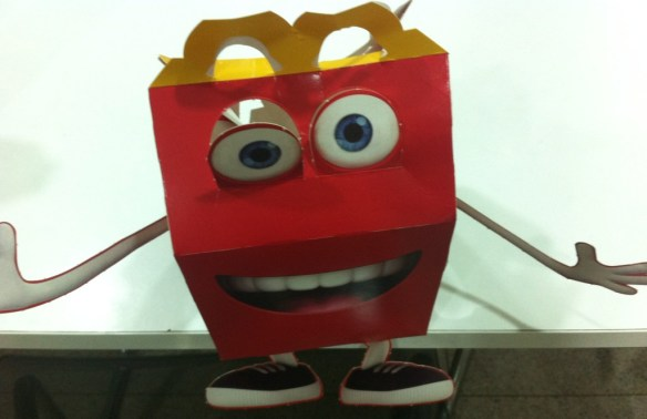 mcdonalds happy meal box