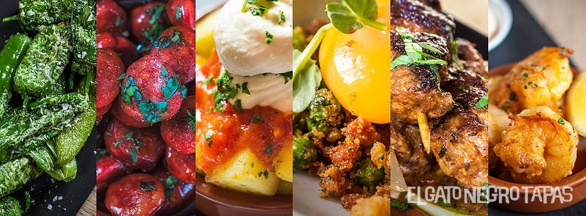 Six dishes for Father's Day at El Gato Negro Tapas
