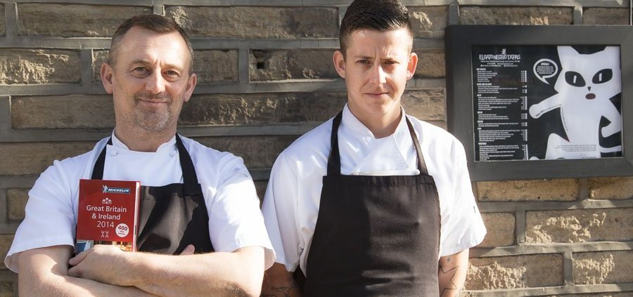 Simon and John and the Michelin Guide