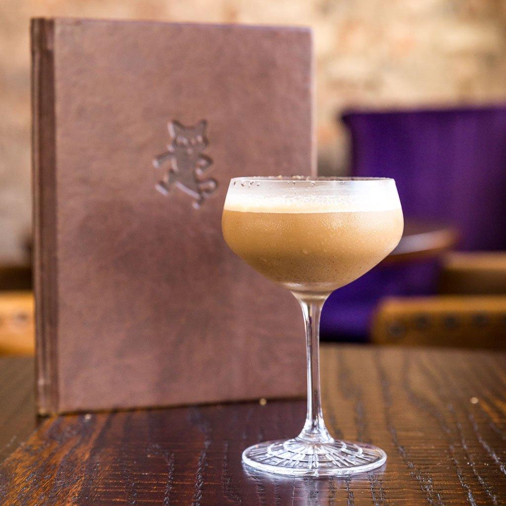 El Gato Negro's El'spresso Martini